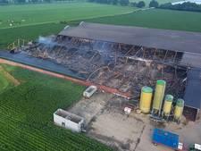 Het stinkt in Heeswijk-Dinther na grote brand in varkensstal