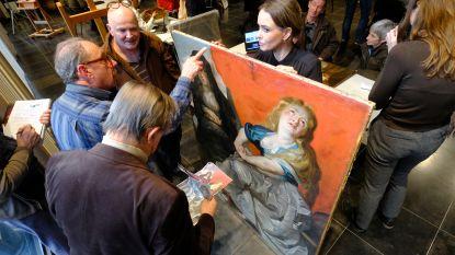 Vuil schilderij uit Parijs hotel is mogelijk echte Rubens
