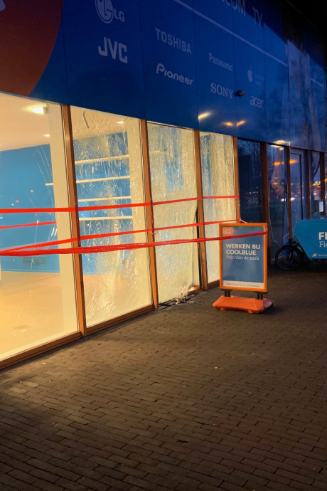 City Campus MAX in rep en roer na plofkraak bij Coolblue: 'Ik zat rechtop in bed'