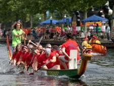 'Sobere' reddingspoging Drakenbootfestival Helmond