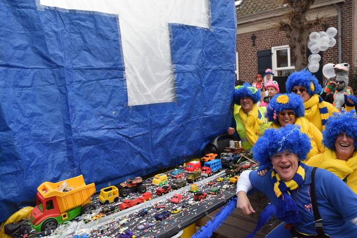 Carnaval in Ballefruttersgat.