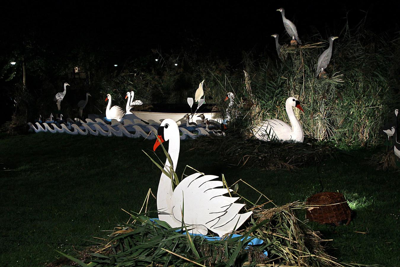 Het tentfeest is afgelast, maar de lichtroute van het Septemberfeest in Borculo gaat mogelijk nog wel door.