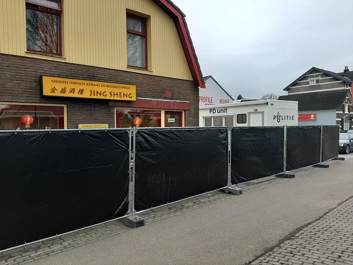 Het politie-onderzoek naar aanleiding van de steekpartij bij de afhaalchinees aan de Zwolseweg in Apeldoorn is nog in volle gang.