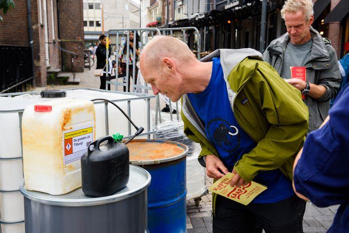 Drugsdumping in hartje Tilburg?