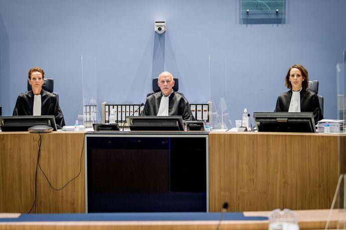 TT-2020-004822  De rechters van de meervoudige strafkamer die de zaak van de viervoudige moord in Enschede.