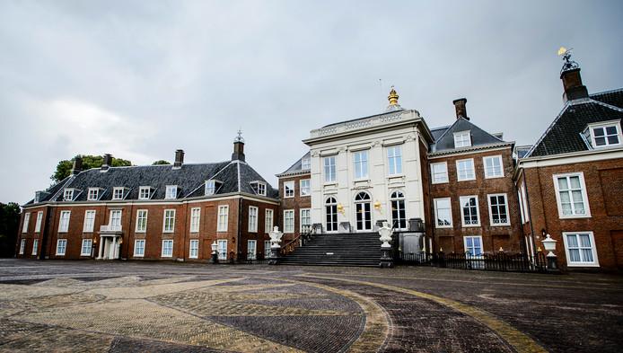 Exterieur van paleis Huis ten Bosch.