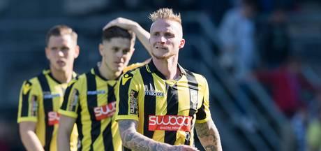Alexander Büttner mag niet  meer spelen voor Jong Vitesse