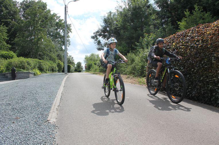 Onder meer de Kamstraat wordt een fietsstraat. Leerlingen van 't Rakkertje kunnen zo veilig uit de schoolomgeving fietsen.