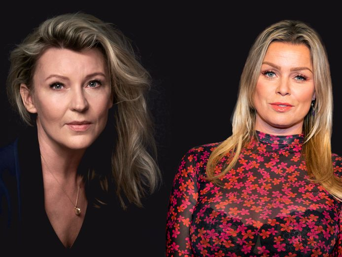 Saskia Noort en Bridget Maasland. AD beeldbewerking