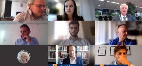 Valse start voor eerste digitale raadsvergadering in historie van Tilburg