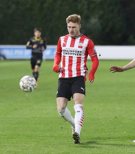 Jong PSV laat winst opnieuw liggen en pakt punt tegen Roda JC
