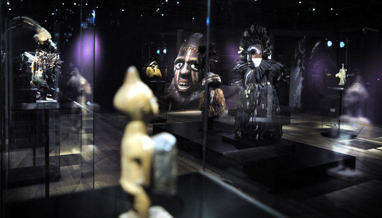 De Afrika-collectie in het Wereldmuseum © Joost van den Broek/ de Volkskrant Beeld