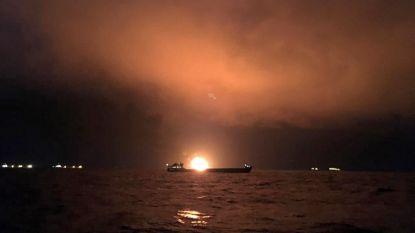 Twee tankers in brand op Zwarte Zee: zeker 20 doden