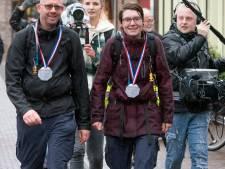 Tim en Anouk weer terug in Ermelo na geslaagd 'wandeltochtje' van 1100 kilometer