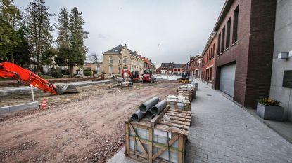 Toegang parking OC 't Riet tijdelijk versperd in Zillebeke