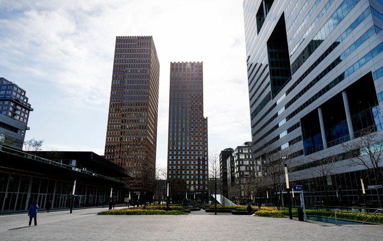 Angelsaksische kantoren op de Zuidas nemen financiële maatregelen. Beeld Hollandse Hoogte /  ANP