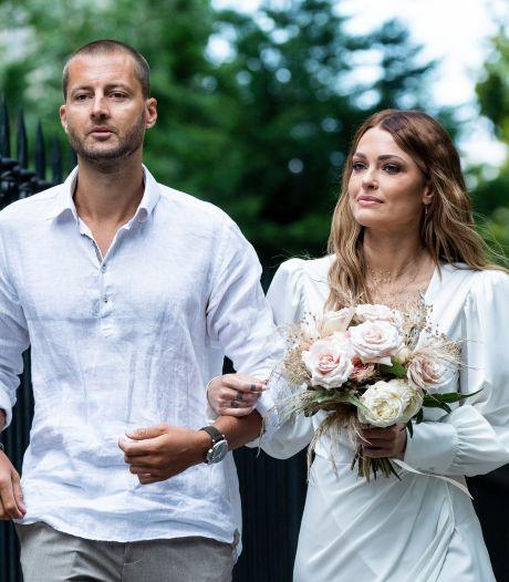 Caroline Receveur s'est mariée en secret: tout sur sa sublime robe