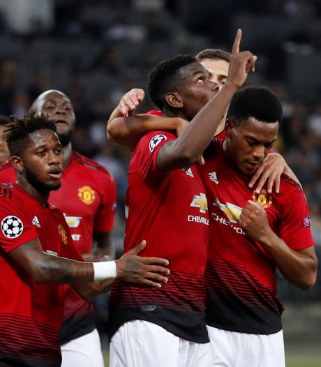 Rood Ronaldo deert Juve niet in Valencia, United op schot in Bern