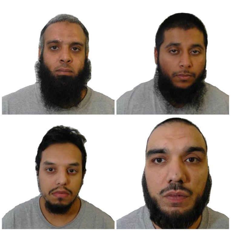 Naweed Ali, Khobaib Hussain, Mohibur Rahman en Tahir Aziz waren geradicaliseerd en planden een aanslag.