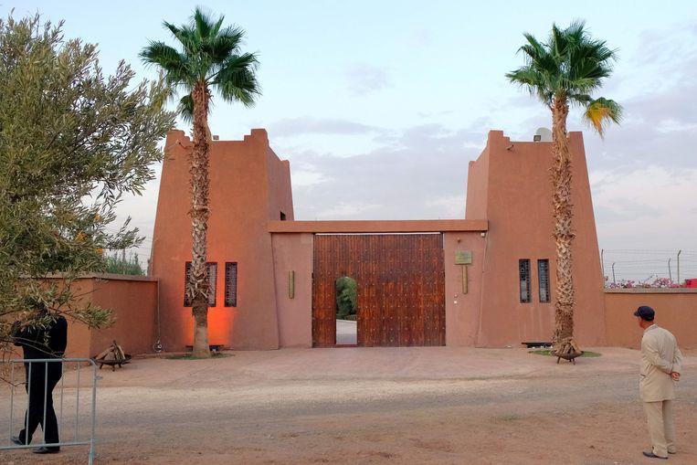Dominique Strauss-Kahn bezit deze woning in de Marokkaanse stad Marrakesh.