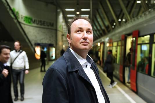 RET-directeur Maurice Unck van de RET.