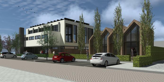 Een impressie van het bouwplan Buurten in Besoyen.