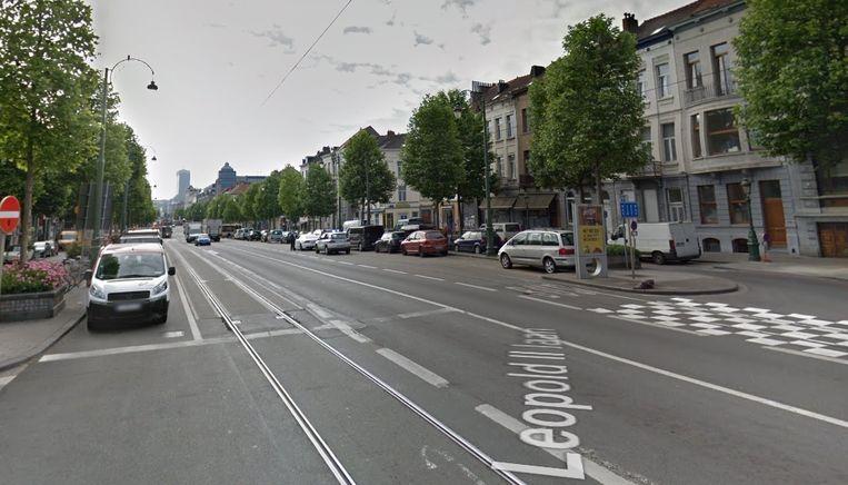 Het slachtoffer werd aangetroffen in een flatgebouw aan de Leopold II-laan in Sint-Jans-Molenbeek.
