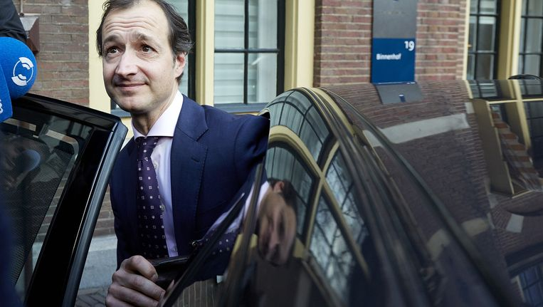 Oud-wethouder Eric Wiebes, de huidige staatssecretaris van Financiën. Beeld anp