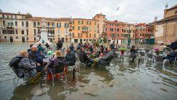 Toeristen blijven komen, ondanks noodweer Italië