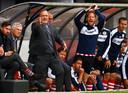 Dick Advocaat als coach van Sparta.