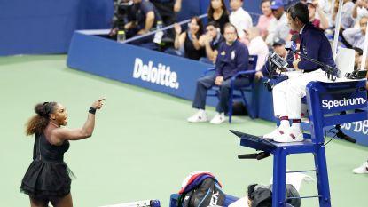 """Ex-official die ook uitpakt met voor tennis ronduit beschamend cijfer: """"Het is Serena die zich moet excuseren bij de umpire en niet omgekeerd"""""""
