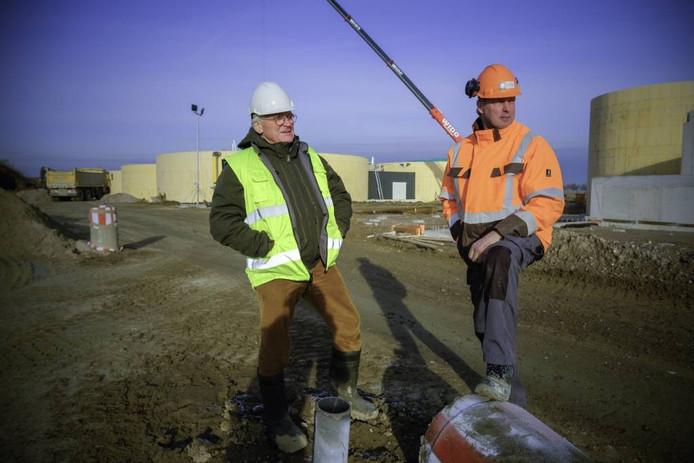 Ab Emmerzaal (l) en Jan Willemsen.