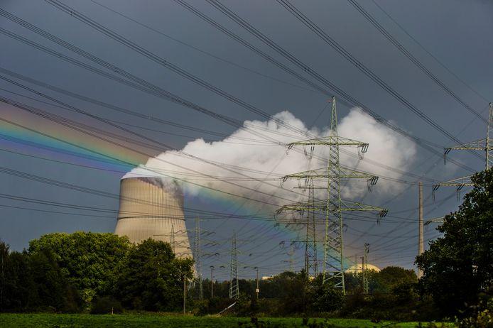 De kerncentrale in Lingen