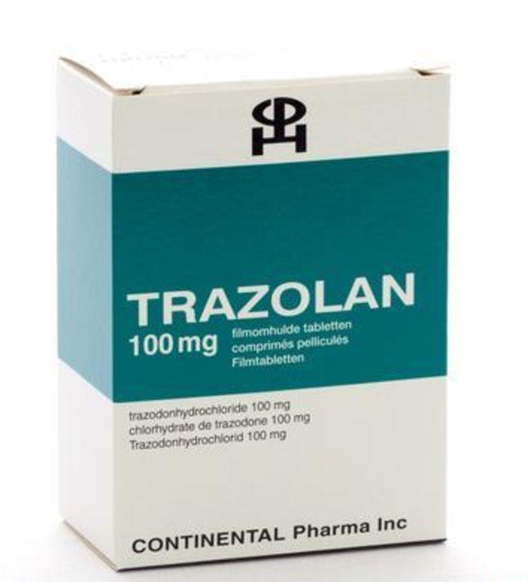 Een van de medicijnen dat gebruikt zou kunnen worden is trazodone, bekend onder de merknaam Trazodan. Het gaat onder meer depressie tegen.