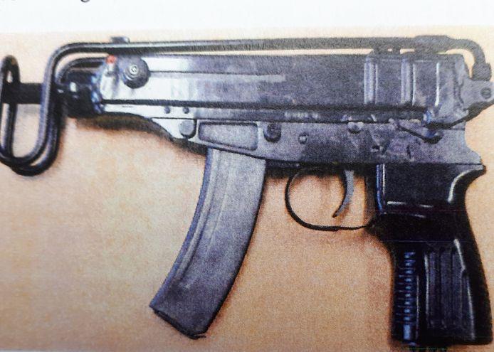 Een machinepistool
