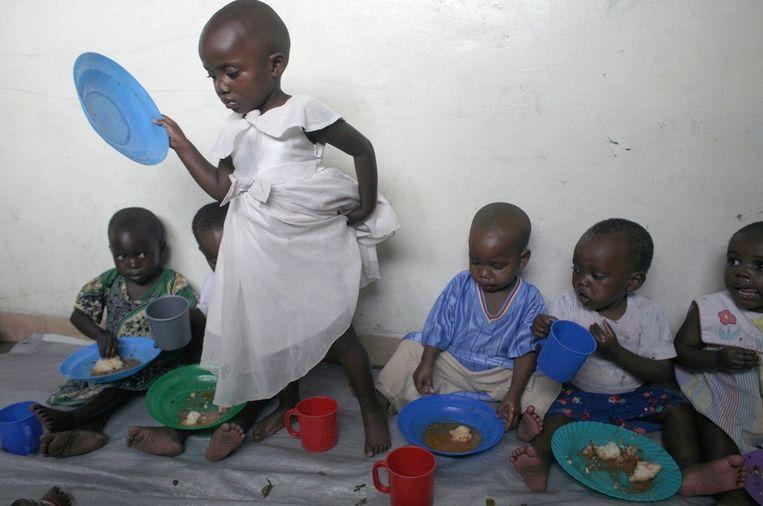 Weeskinderen in Goma, in het oosten van Congo. (Archieffoto)