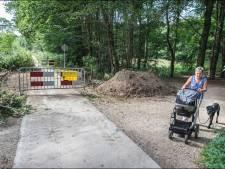 Bouw 'reptielwerende hekjes' in Spoorkuil Groesbeek