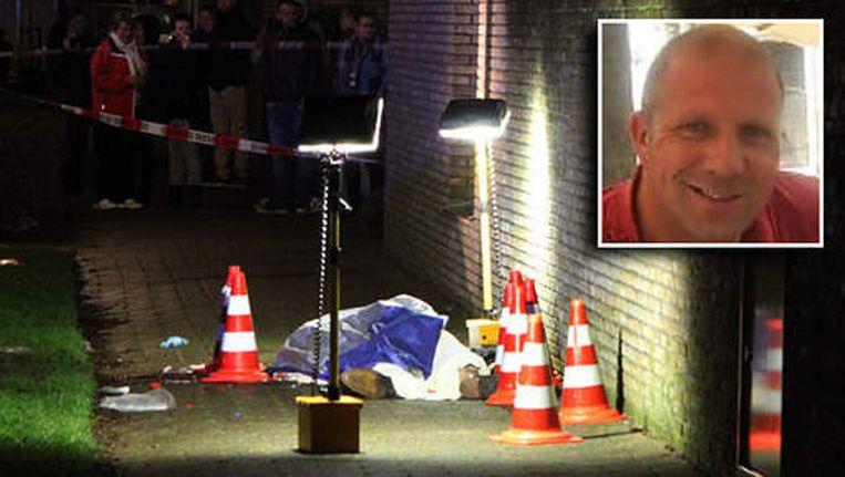 Rob Zweekhorst (inzet) werd begin dit jaar neergeschoten