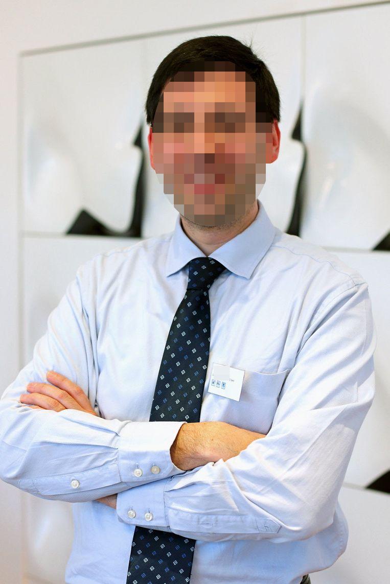 De beschuldigde ex-professor van UGent.