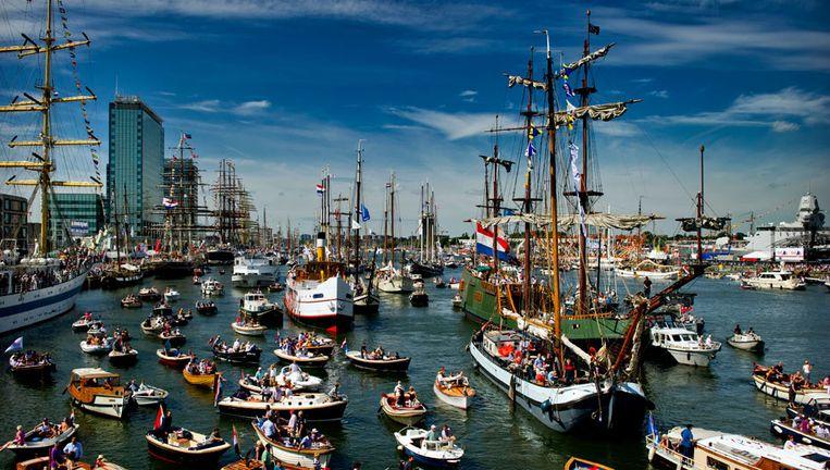 Ter gelegenheid van SAIL ontvangt Art Rooijakkers in het NTR-programma SAIL Vandaag vanaf dinsdag op NPO 1 dagelijks diverse gasten uit de maritieme wereld. Beeld .