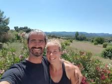 Corona hield in maart Boudewijn en Eva aan de Spaanse grens tegen, nu begint het Alphense stel toch hun ecolodge