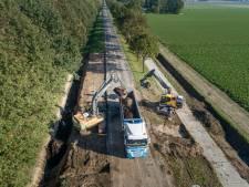 Schokkerringweg bij Nagele langer dicht door dieselvervuiling