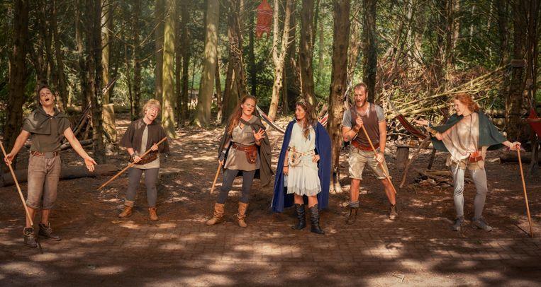 Robin Hood in Het Amsterdamse Bostheater. Beeld Greetje Mulder