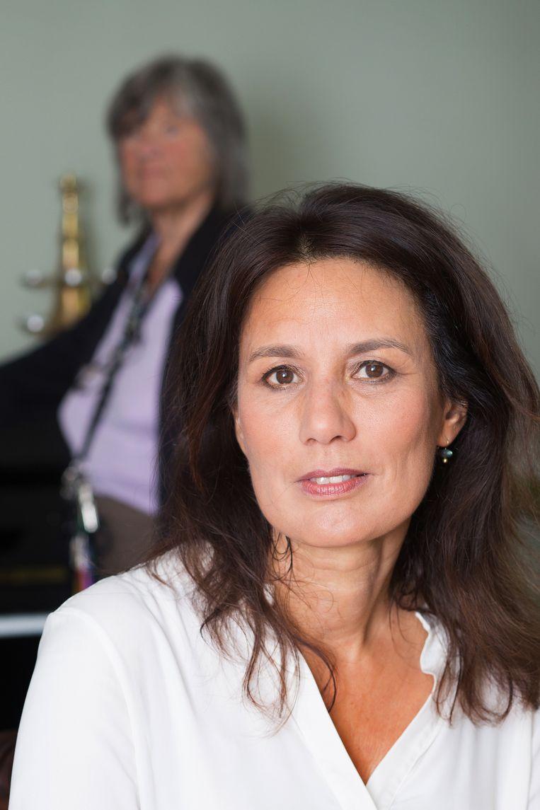 Hoogleraar langdurige zorg en dementie Anne-Mei The. Beeld Maartje Geels