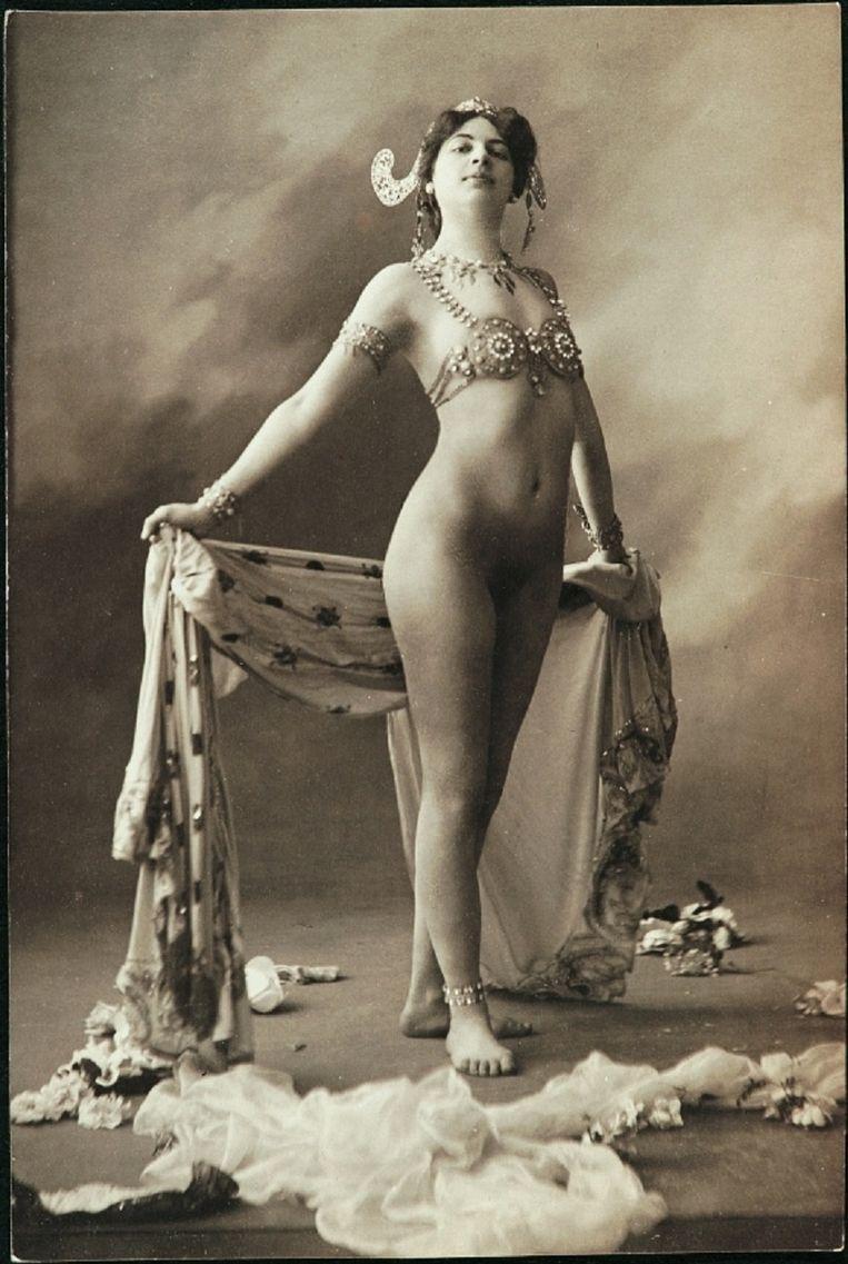 Mata Hari, of Margaretha Geertruida (Griet) Zelle. Beeld
