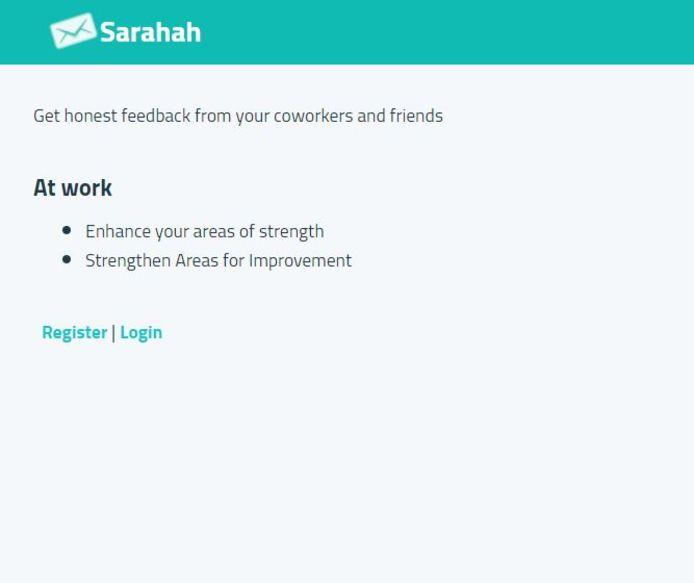 Ook Sarahah.com is populair bij tieners.