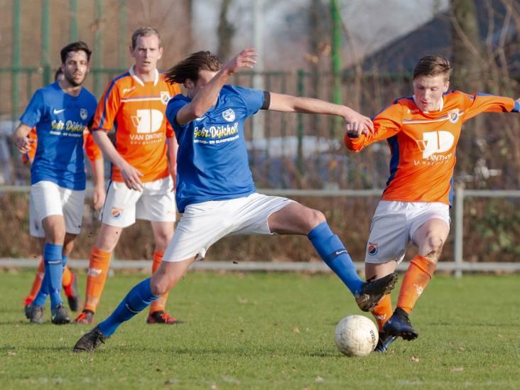 DAW wint en speelt wedstrijd uit met tien spelers na blessure van Janssen
