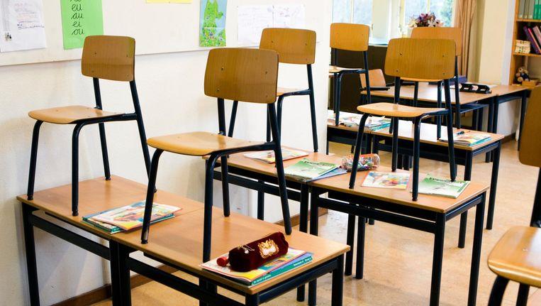 Een petitie voor een beter salaris en minder werkdruk voor basisschoolleraren werd door meer dan 300.000 mensen ondertekend Beeld anp