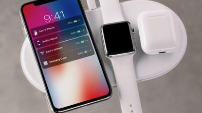 Geen 'one more thing' voor Apple: draadloos oplaadmatje geschrapt