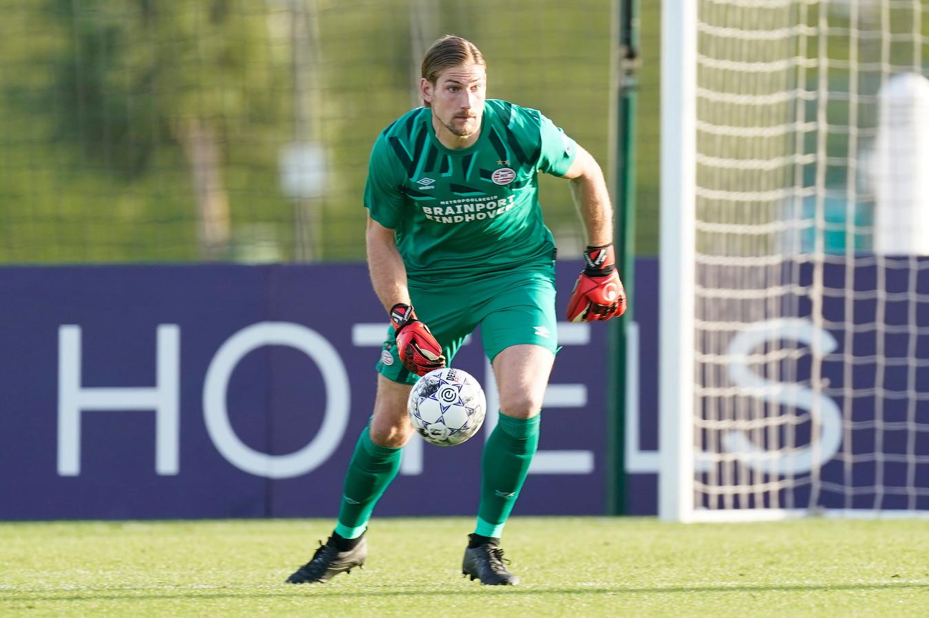 Lars Unnerstall is na het vertrek van Jeroen Zoet naar FCUtrecht vrijwel zeker ook in de tweede seizoenshelft de eerste doelman van PSV.